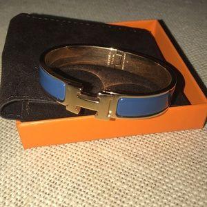 Hermès Narrow Clic Clac Bracelet GM